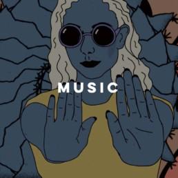 Sine Digital Music Lyla Foy Artwork