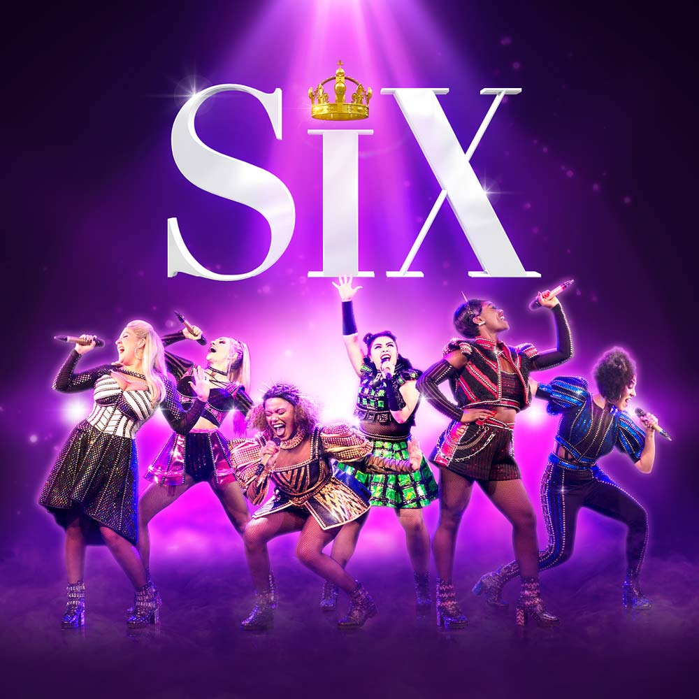 Six the Musical Logo Cover